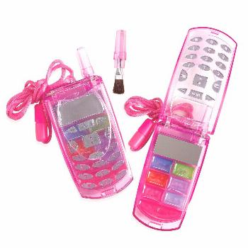 Cellphone Lip Gloss Compacts, 57509