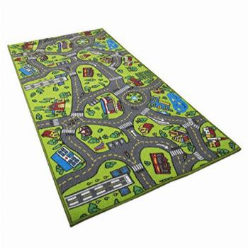 Kids Carpet Playmat Rug City Life Great for Playing with