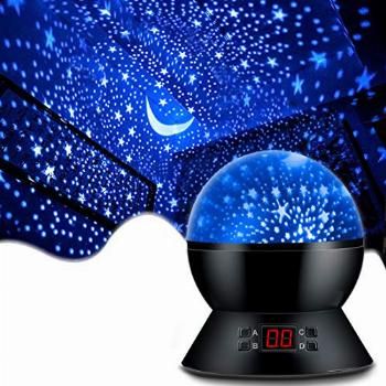 MOKOQI Star Projector Night Lights for Kids With Timer,