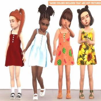 sims 4 cc // custom content kid's children clothing // The Sims Resource // //  TØMMERAAS' Button-