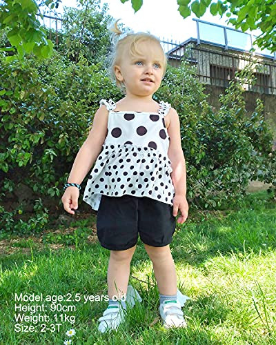 Toddler Girls Clothes Baby Girl Outfits 12M-4T Polka Dot